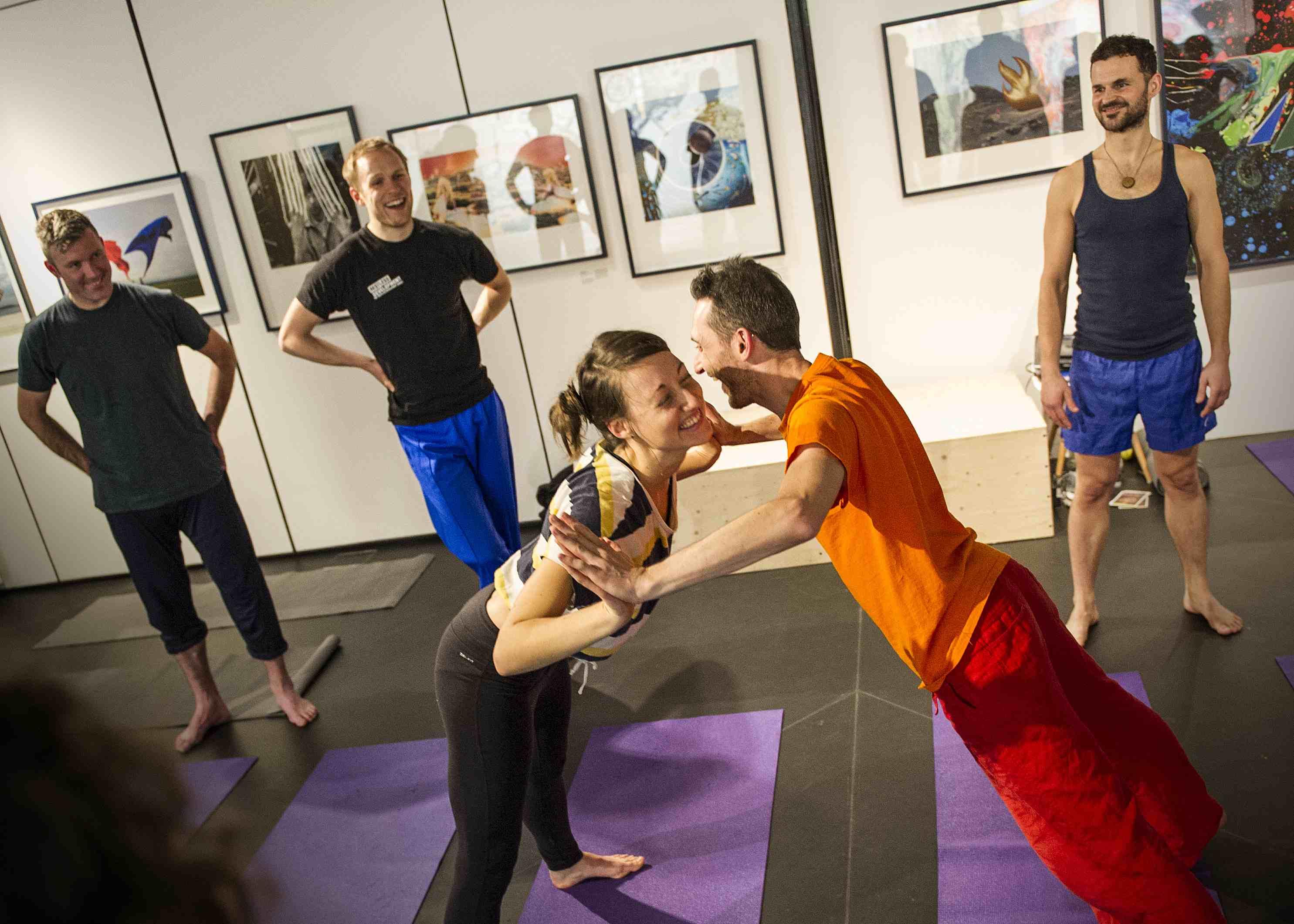 Yoga dating