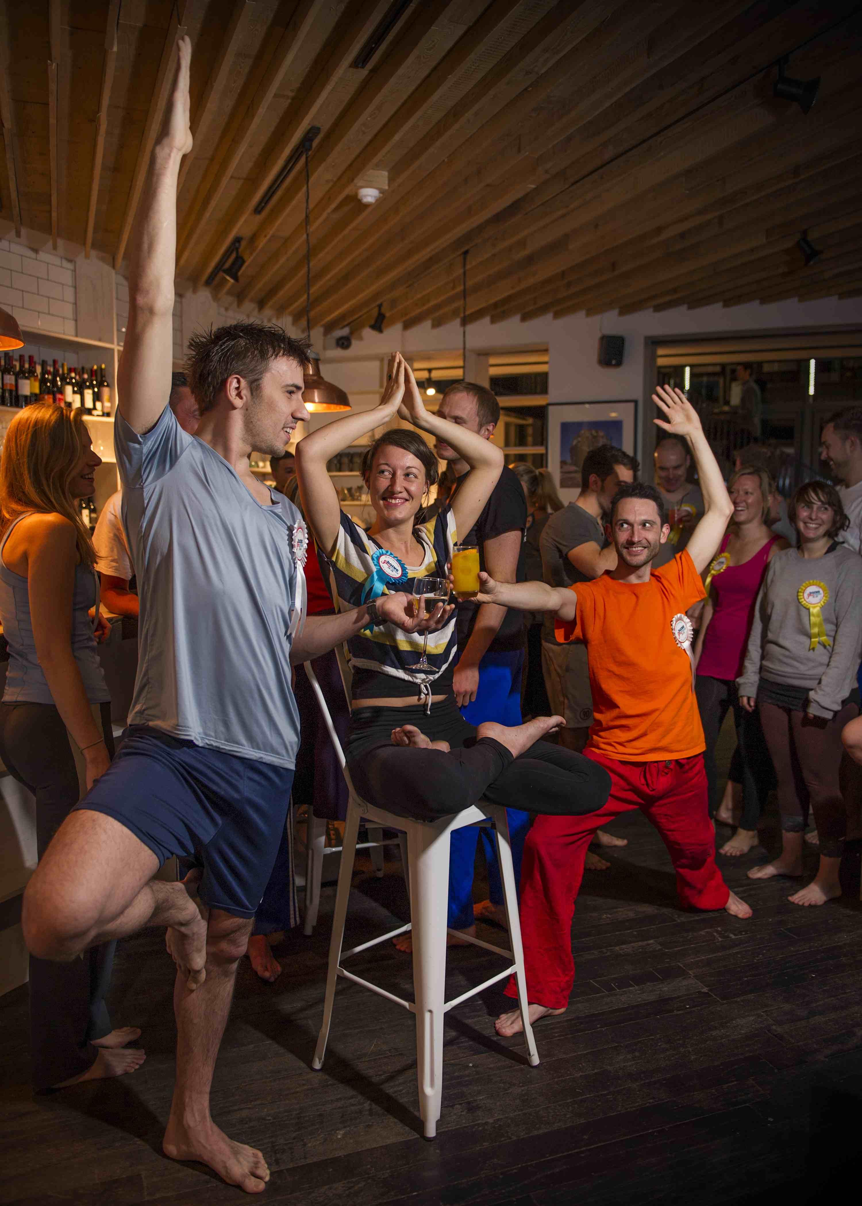 Yoga pub dating dalston