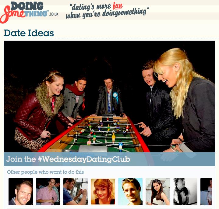 Doing something dating website