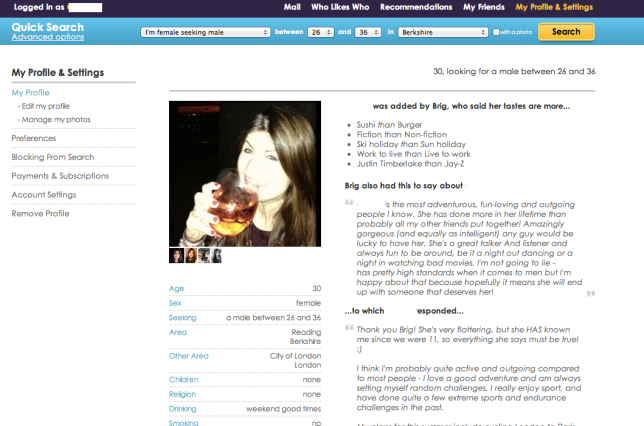 dating site review bloggers