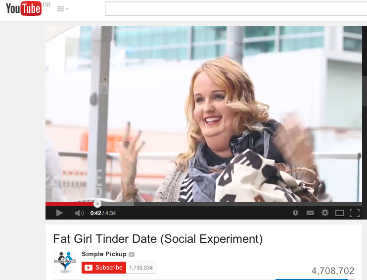 Not being into your fat online date doesn't make you shallow