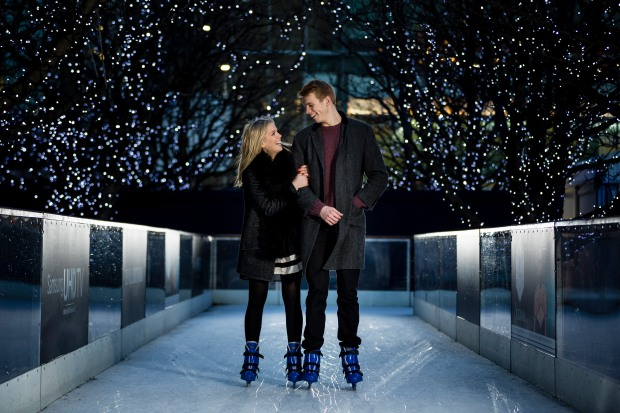 Photography Of Canary Wharf Ice Rink