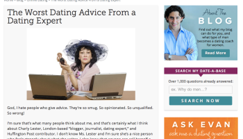 dating site blogger)