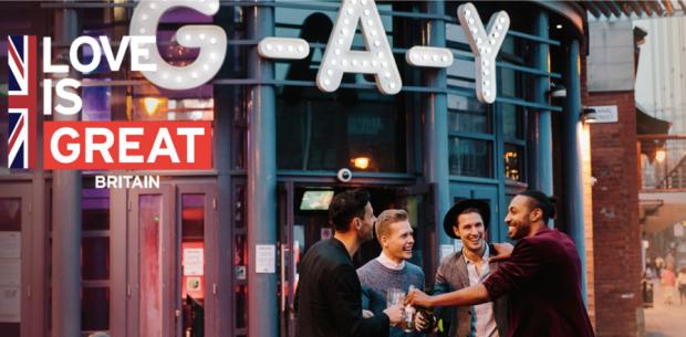 Expedia GAY campaign