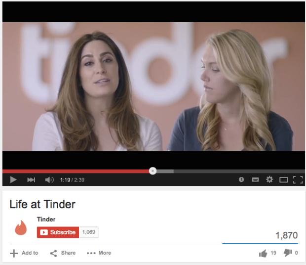 Life at Tinder