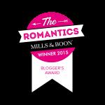 30 Dates Wins Mills & Boon Romantics Award – Blogger of the Year!