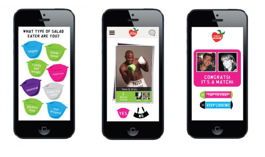 Salad dating app